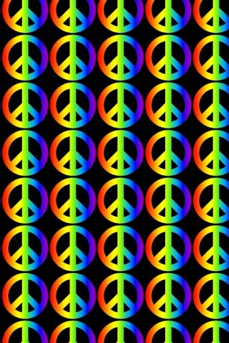 Rainbow Peace Symbols Journal: 150 Page Lined ()
