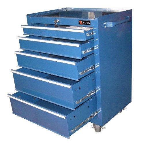 Excel TB2605X-Blue26-Inch Steel Roller Cabinet, (Excel Roller)