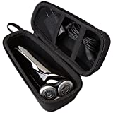 Aproca Hard Travel Storage Case Compatible with Philips Norelco Electric Shaver 9700 5570 5750 5550 S9721/89 S9721/84 S5572/90 S5660/84 S5590/81(black-small) (Black)