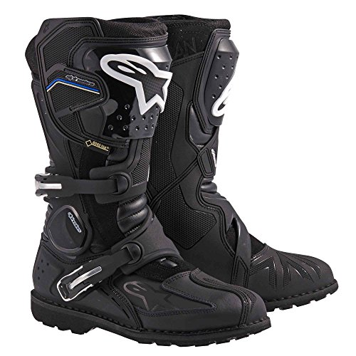 (Alpinestars Toucan Gore-Tex Men's Weatherproof Motorcycle Touring Boots (Black, US Size 12) )