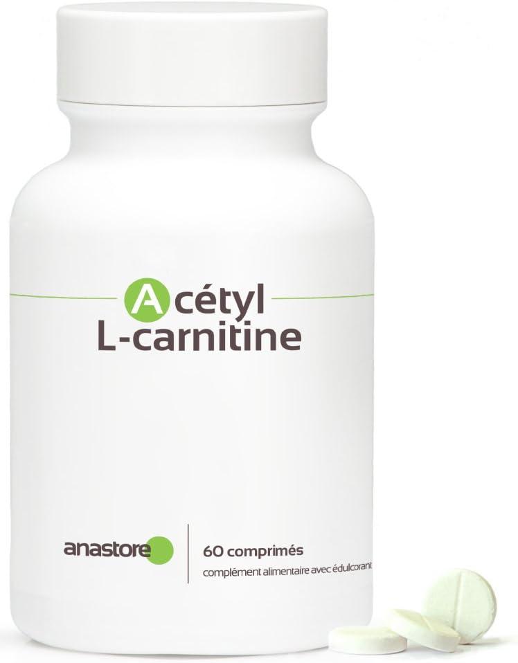 ACETIL L - CARNITINA * 500 mg / 60 comprimidos * Cardiovascular ...
