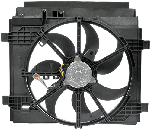 Nissan Cooling Sentra Fan Radiator - Dorman 621-439 Dual Radiator Fan Assembly