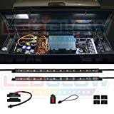 LEDGlow 2pc Truck Tool Box LED Lights - Includes Magnetic Power Switch
