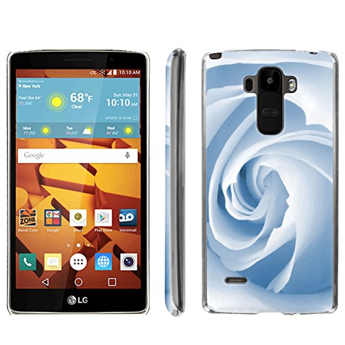[ArmorXtreme] Phone Case for LG G Stylo LS770 / LG G4 Note Stylus / LG G Stylo H631 / MS631 [Clear] [Ultra Slim Cover Case] - [Blue Rose] -  ArmorXtreme for LG G Stylo H631