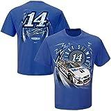 Tony Stewart #14 Mobil One Adult Speedbolt T-Shirt-Royal Blue-XL