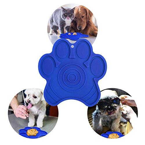 cinsey Bath Buddy for Dogs, Lick Dog Pad Washing Distraction Bath Device Makes Bath Time Easy, Enjoyable Bathing, Grooming and Dog Training