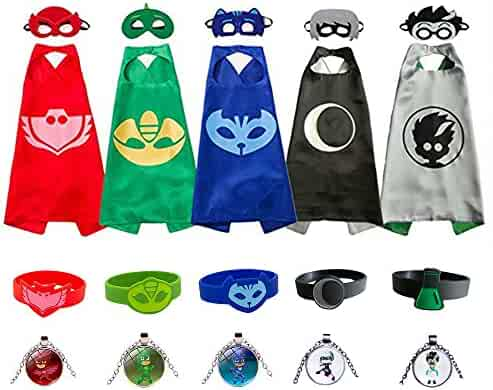 Kids Capes and Masks Costume for Boys and Girls