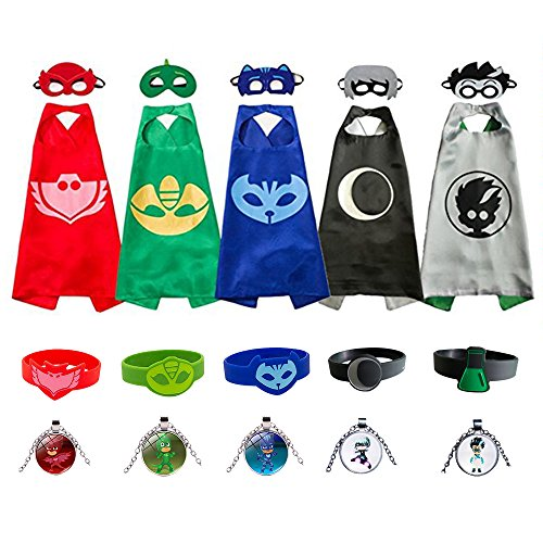 (Kids Capes and Masks Costume for Boys and)