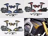 Body Fairing Kit ABS Plastic for 2014-2015 Yamaha FZ-09 MT-09 FZ09 MT09 (Black)