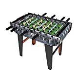 Minigols Real Madrid Foosball Table with 11 Real Madrid Figures and 11 Barcelona Figures