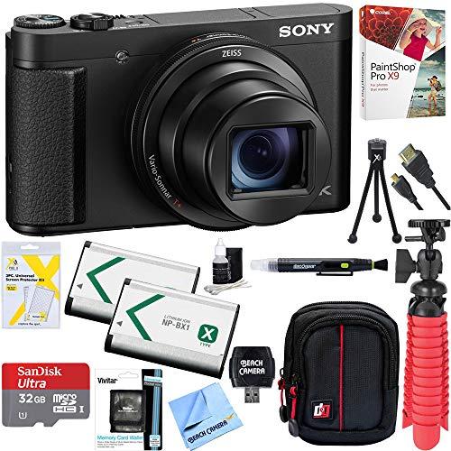 Sony Cyber-Shot DSC-HX99 High Zoom 4K Camera + 32GB SDHC Memory Accessory Bundle
