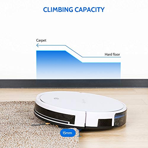 DEALDIG Robvacuum 8 Robot Vacuum Cleaner with WiFi Connectivity Work for Alexa