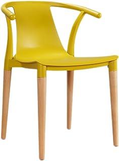 RXL-Sedie Semplice Sedia da Pranzo in Legno massello (Colore : B)