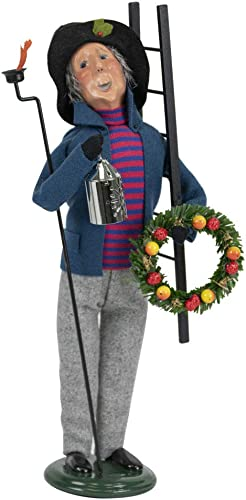 Byers Choice Lamplighter Caroler Figurine from The Specialty Characters Collection 4843