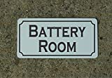 Battery Room 6''x12'' Metal Sign for Boat Ship Solar Generator