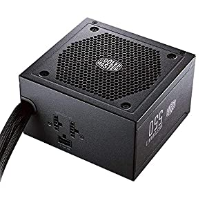 Cooler Master MPX-5501-AMAAB-US MasterWatt 550 Watt Semi-Fan Less Modular 80 Plus Bronze Certified Power Supply
