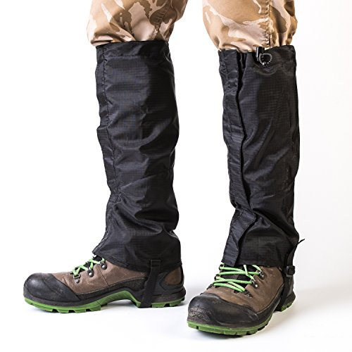 Sobike Wear Resistant Outdoor Hiking Leg Gaiter Waterproof Durable High Snow Gaiters Shoes Boots Cover Mountain Sports