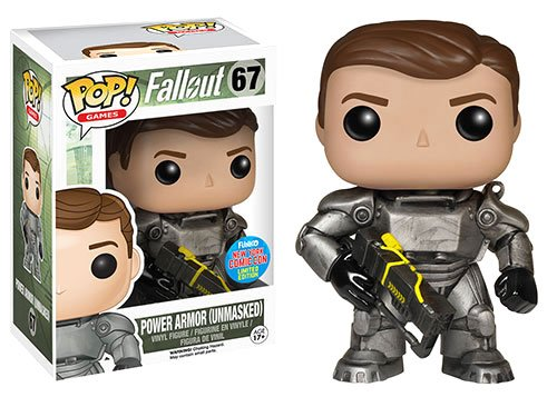 Funko Fallout Funko POP! Games Power Armor Exclusive Vinyl Figure #67 [Unmasked]