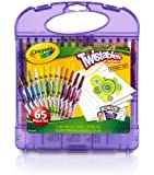 Crayola Mini Twistable Crayons and Paper Set 65pc Set