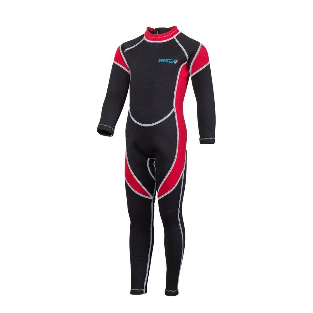 Nataly Osmann Wetsuits Kids 2.5mm Neoprene Full Suit, Surfing Swimming Suit for Boys& Girls, UV Protection Keep Warm