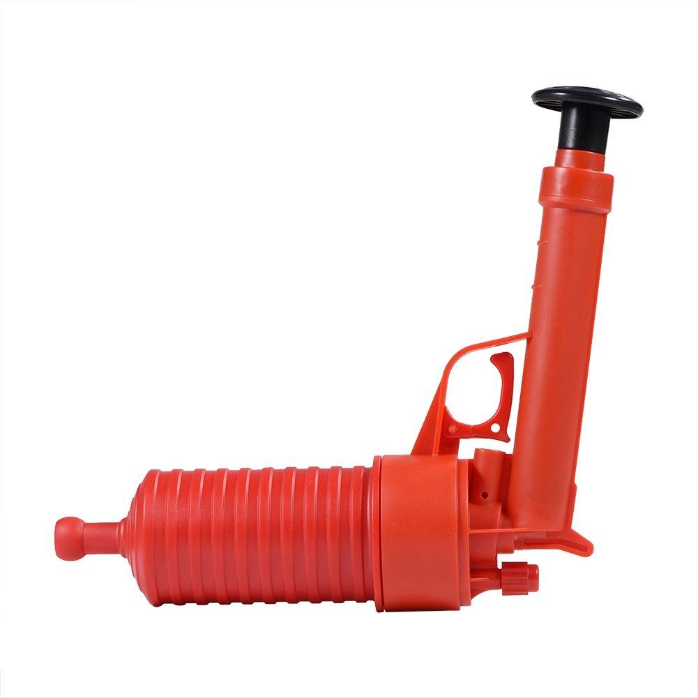 Outil D/éboucheur /à Pompe Manipuler le Buster Puissant de Drain de D/écapant de Toilette avec Deux Ventouses pour lEvier D/éboucheur Canalisation