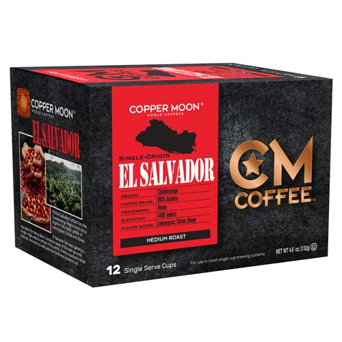 Copper Moon Single Cup Coffee Origin, El Salvador, 12 Count