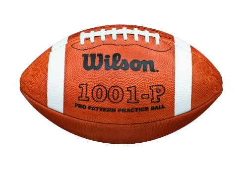 Wilson 1001P Pro Pattern Practice Football by Wilson