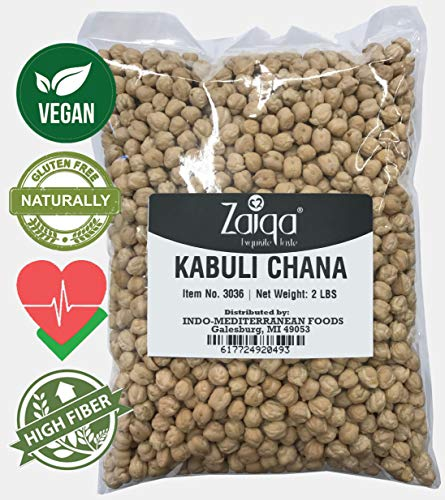 Chickpeas Garbanzo Beans | Delicious to Taste, Cooks Even, Comes Clean | Quality Choice for Making Nutritious Creamy Hummus, Gluten-free Flour, Vegan & Indian Curry Dishes | Grown in USA - 2 LBS