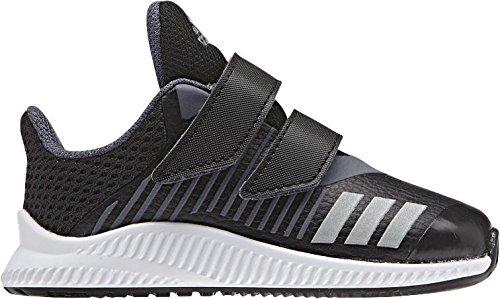 adidas FortaRun CF I - Zapatillas de deportepara niños, Negro - (NEGBAS/PLAMET/ONIX), 26