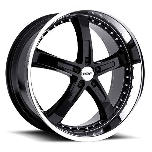 TSW Alloy Wheels Jarama Gloss Black Wheel with Machined Lip (19x8