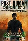 Post-Human Series Books 1-4 (Sub-Human, Post-Human, Trans-Human, Human Plus) by David Simpson Picture