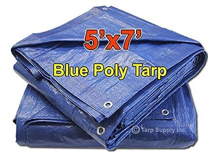 Kotap 10-ft x 18-ft General Purpose Blue Poly Tarp Item TRA-1018