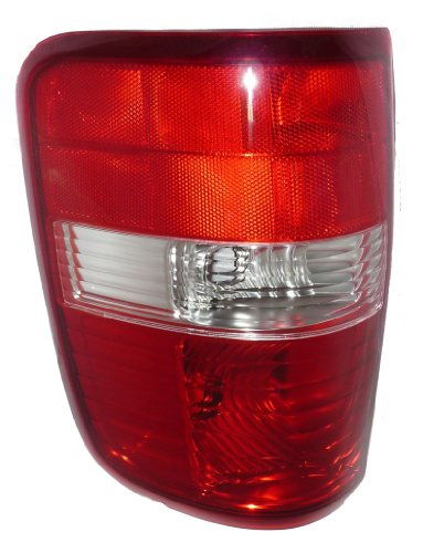 Ford Pick Up Truck 04-08 Left Lh Rear Brake Taillight Taillamp Lens & - Light Tail Rear Assembly Left