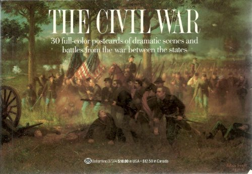 (The Civil War: 30 Full-color Postcards of Dramatic Scenes and Battles of the War Between the States)
