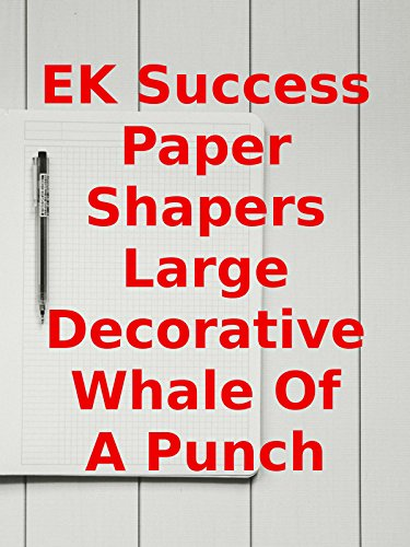 aper Shapers Large Decorative Whale Of A Punch ()