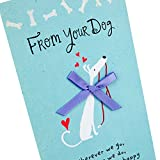 Hallmark Mother's Day Card from Dog