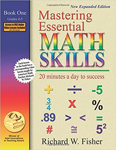 Mastering Essential Math Skills: 20 Minutes A Day To Success, Book 1: Grades 4-5 Mobi Download Book