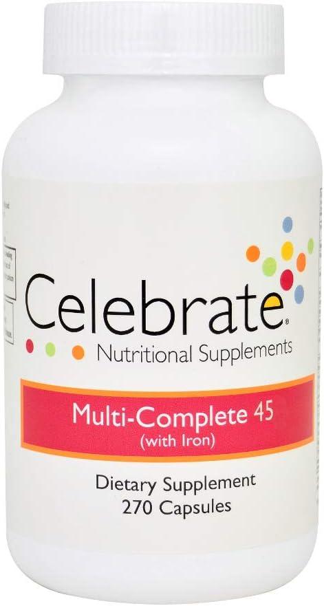 Celebrate Multi-Complete 45 Capsules – 270 Count