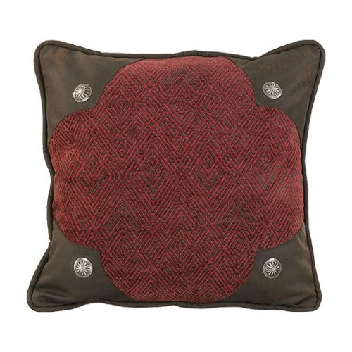 HiEnd Accents Wilderness Ridge Lodge Scalloped Pillow -