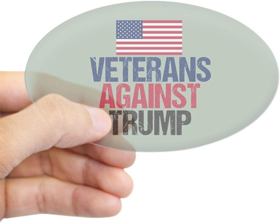 CafePress Veterans Against Trump Sticker Sticker Oval 1955404484