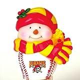 "MLB 2.75"" Light Up Musical Snowman MLB Team: Pittsburgh Pirates"