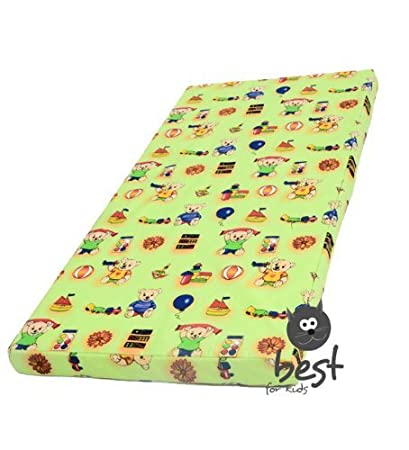 Blau Kinderbettmatratze Babymatratze 60x120 cm Kinder-Rollmatratze