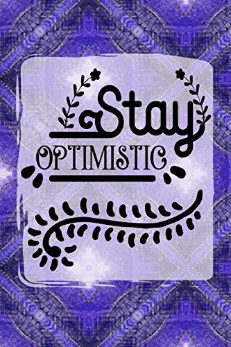 (Stay Optimistic: 52 Week Positivity Journal for Women |Gratitude Diary | Purple Burst | 6x9