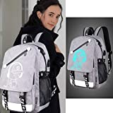 Anime Luminous Backpack Noctilucent School Bags