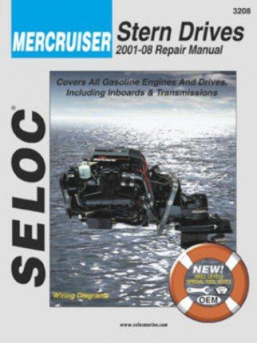 (SL3208 Mercruiser Stern Drive Inboard Boat Engine 2001-2013 Repair Manual by Seloc)