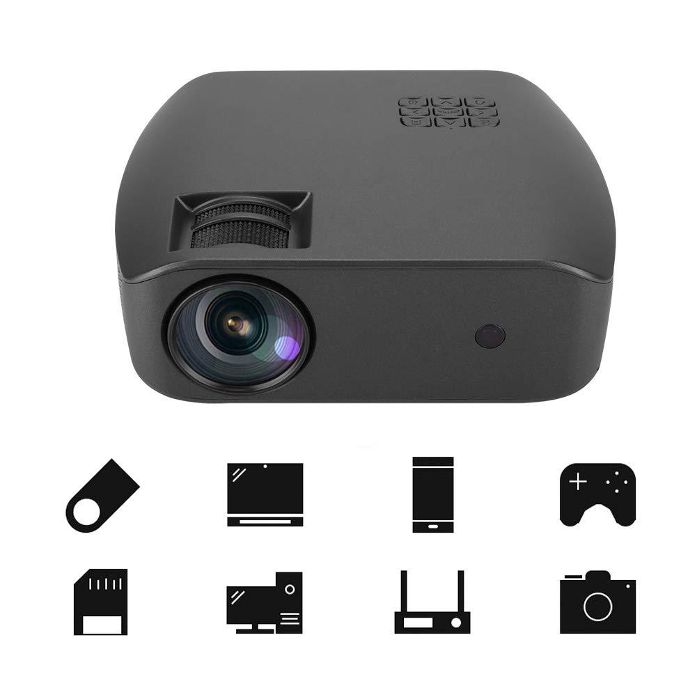 Proyector LCD, 800 * 480P Dispositivo de proyector LCD portátil ...