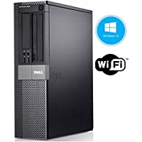 Dell Optiplex 980 Desktop Business Computer PC - Intel Core i5-650 3.2GHz 8GB DDR3 RAM 250GB SSD DVD Windows 10 Professional (Certified Refurbished)