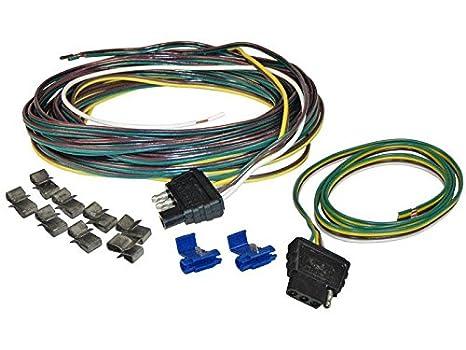 on 4 wire trailer harness splitter