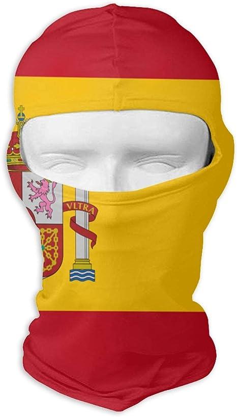 Pañuelo de protección solar Sombreros Máscara de esquí Bandera de España Protección solar UV Protección contra el polvo Máscara facial resistente al viento para correr Ciclismo Diseño de pesca2: Amazon.es: Deportes y