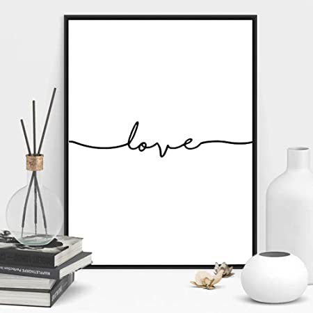 Or Noir Blanc Argent Photo /& cadre photo Home Decor Poster Cadre Multi Taille